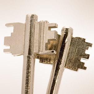 Trezorové kľúče